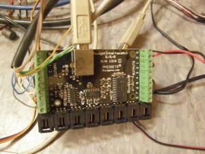 Phidget control board