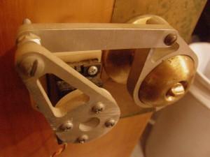 Door handle actuator